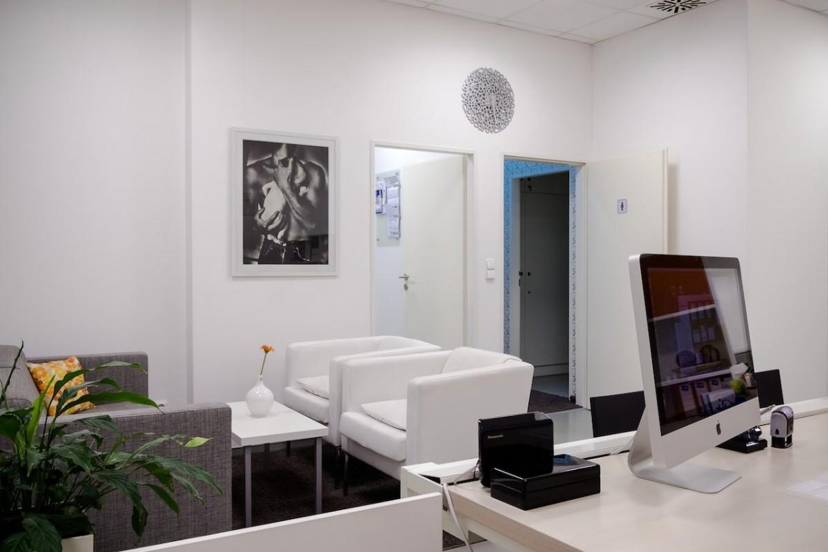 Urosanté klinika - interiér